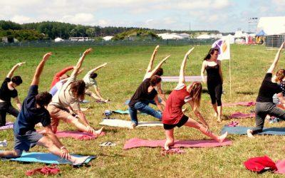 Yoga Medica na Open'er Festiwal 2015 – relacja
